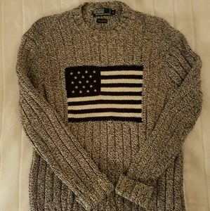 Ralph Lauren Polo American Flag Sweater